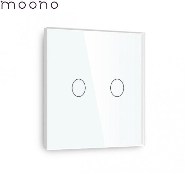 Întrerupător touch dublu WiFi - moono 1