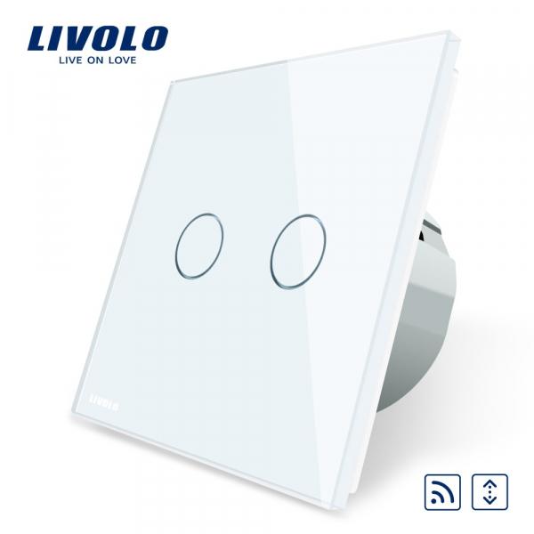 Întrerupător touch RF acționare jaluzele Livolo 0