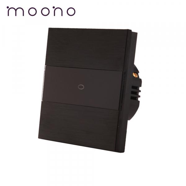Întrerupător touch simplu cu variator (dimmer) M3 moono 0