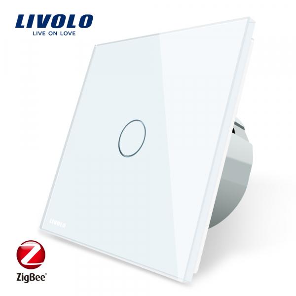 Întrerupător Touch simplu Livolo ZigBee