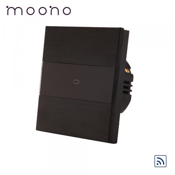 Întrerupător touch simplu RF cap-scară / cruce M3 moono 0