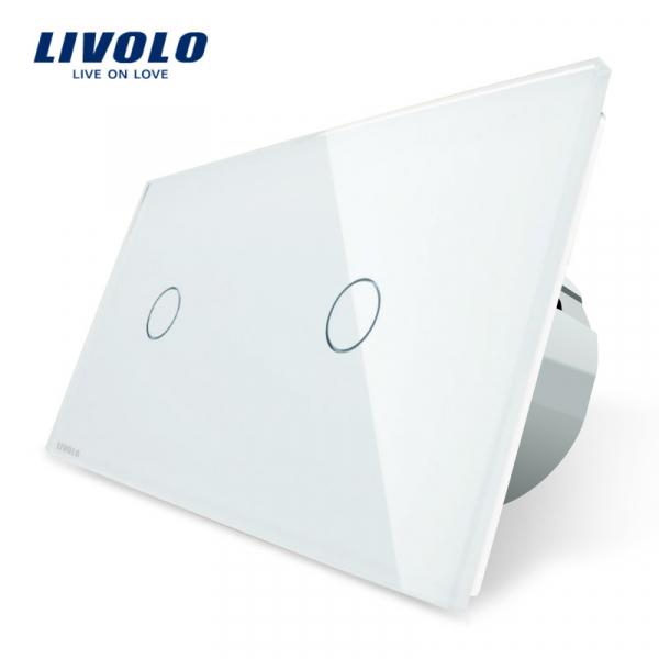 Întrerupător touch simplu + simplu Livolo