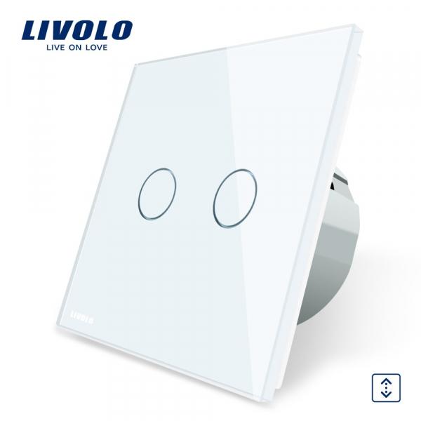 Întrerupător touch acționare jaluzele Livolo 0