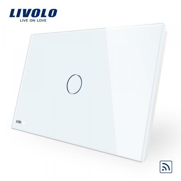 Întrerupător touch simplu RF Livolo Standard Italian 0