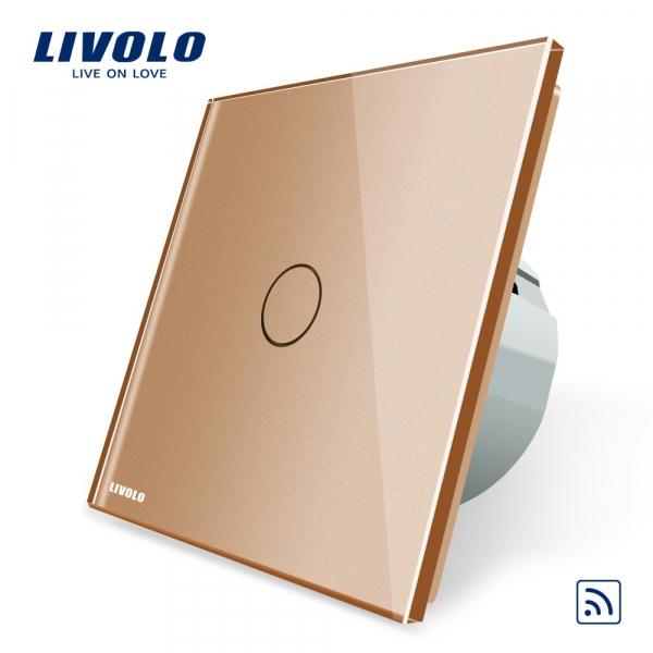 Întrerupător touch simplu RF Livolo 0