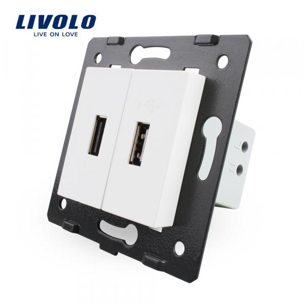 Modul priză 2 x USB Livolo (2 x 5V / 2.1A) 0
