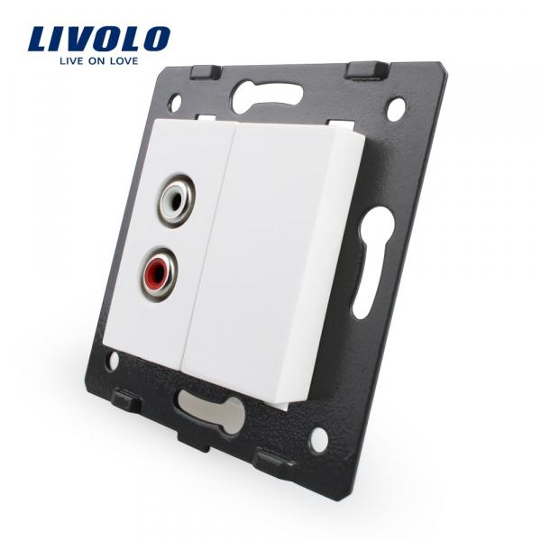 Modul priză Audio RCA Livolo 0