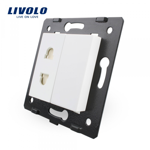 Modul priză EURO-US 2P Livolo 0