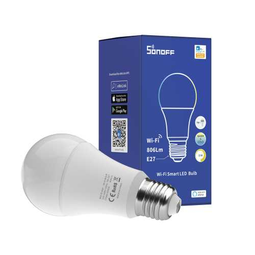 Bec LED CCT smart WiFi A60 Sonoff [0]