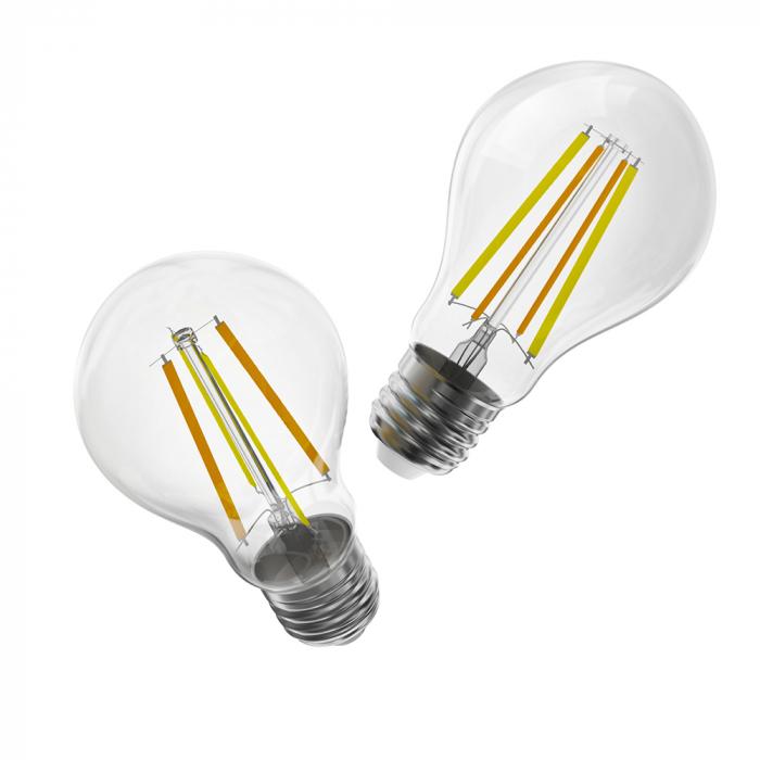 Bec LED CCT smart WiFi cu filament A60 Sonoff [2]