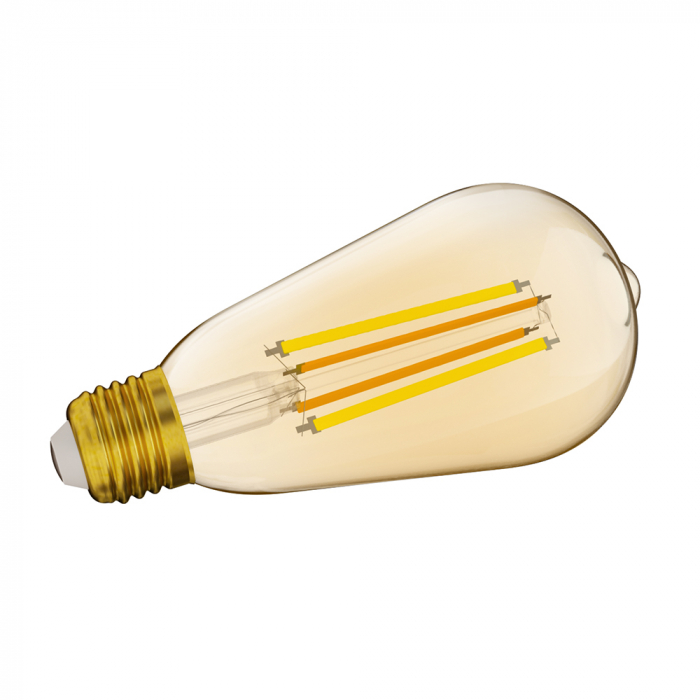 Bec LED CCT smart WiFi cu filament ST64 Sonoff [1]