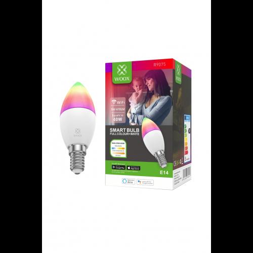 Bec LED Smart WiFi E14 RGB+CCT WOOX [0]
