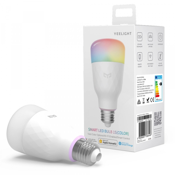 Bec LED Smart Xiaomi Yeelight WiFi RGB S1 0