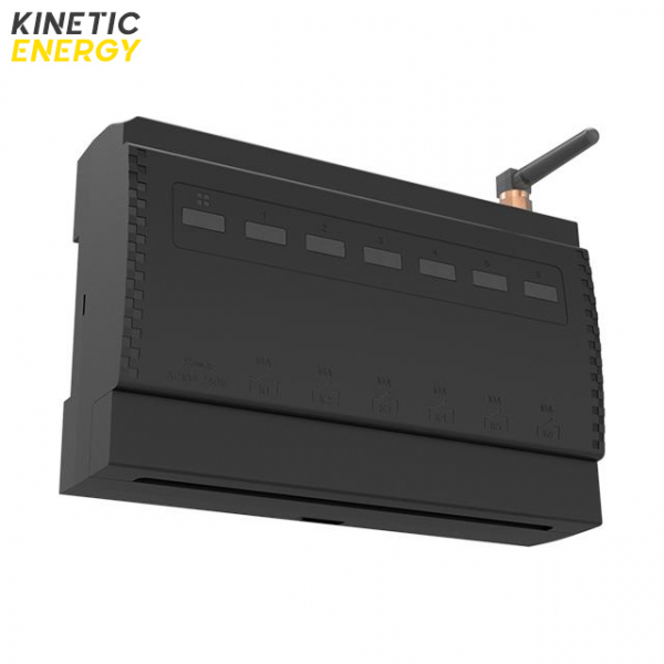 Controller Kinetic Energy, 6 canale, contact uscat, 2*16A, 4*10A 1