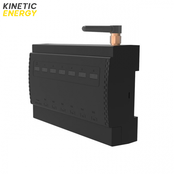 Controller Kinetic Energy, 6 canale, contact uscat, 2*16A, 4*10A 0