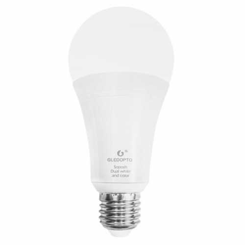 Bec LED RGBCCT Plus, 12W E27 Zigbee Gledopto [0]