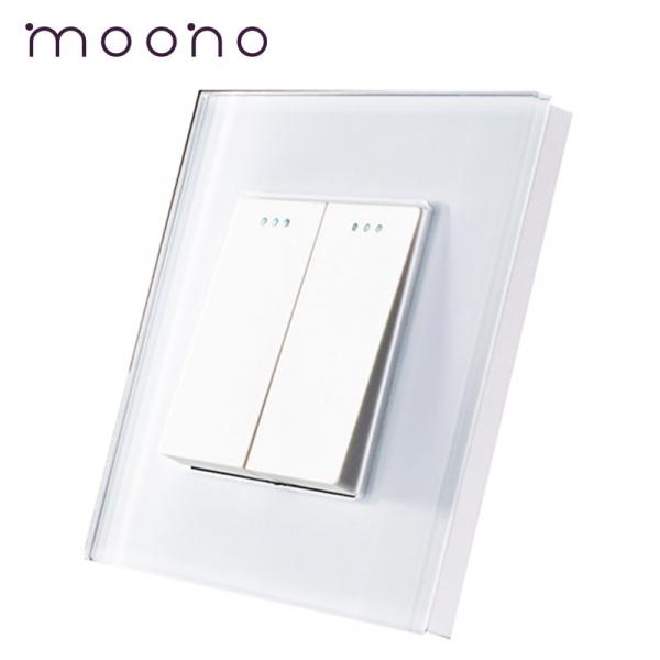 Întrerupător clasic dublu M1 moono 0