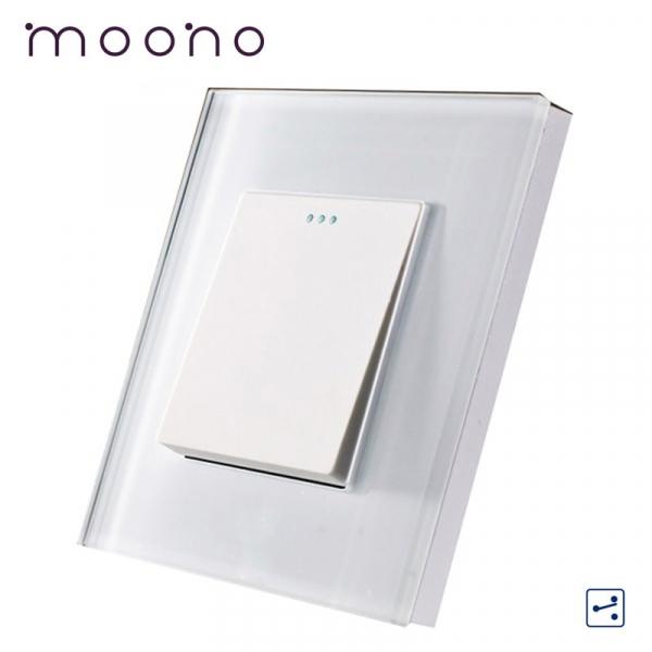 Întrerupător clasic simplu cap-scară M1 moono 0