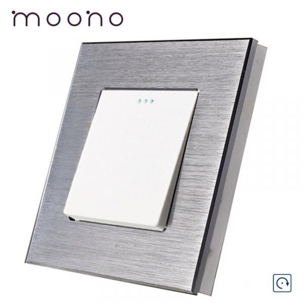 Întrerupător clasic simplu reset (cu revenire) M2 moono 0