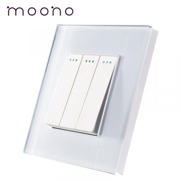 Întrerupător clasic triplu M1 moono 0