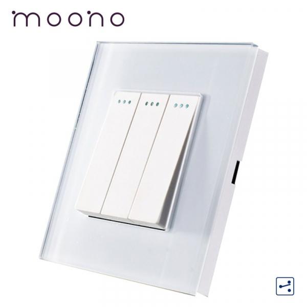 Întrerupător clasic triplu cap-scară M1 moono