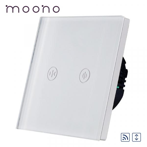 Întrerupător touch RF acționare jaluzele M1 moono