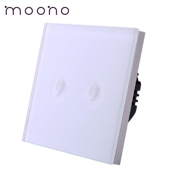Întrerupător touch dublu M1A moono 0