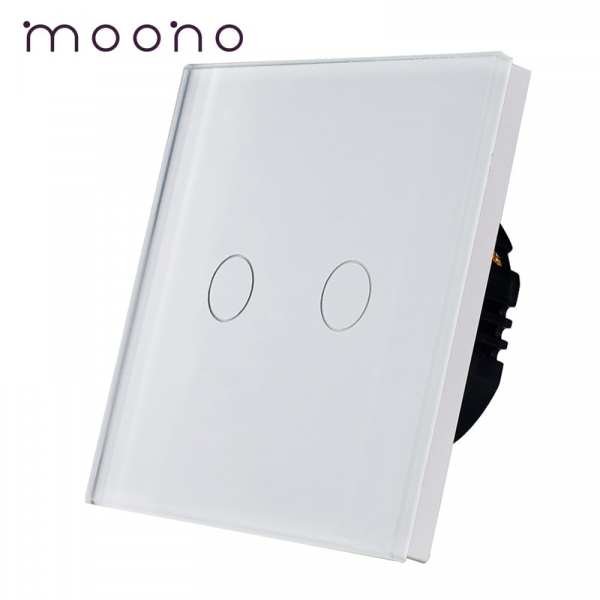 Întrerupător touch dublu M1 moono 0