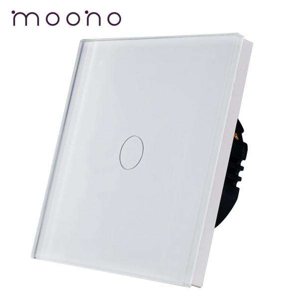 Întrerupător touch simplu M1 moono 0