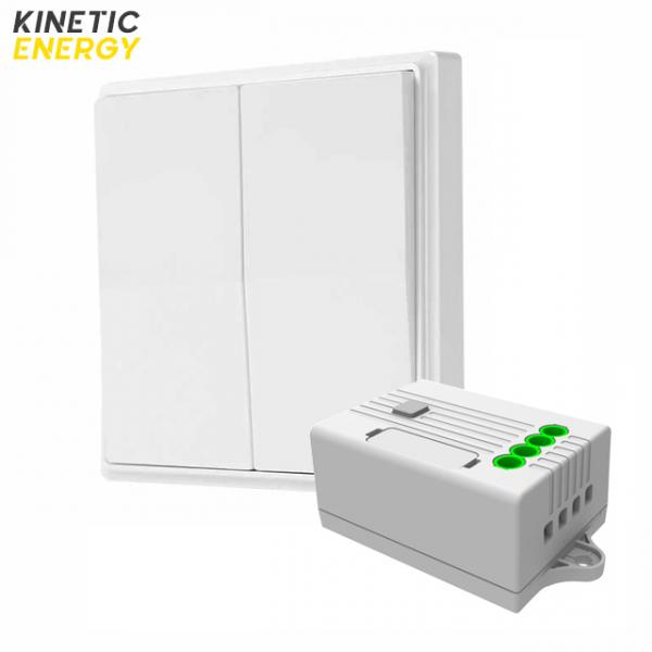 KIT Întrerupător dublu Kinetic Energy + Controller 2 canale, 2x5A 0