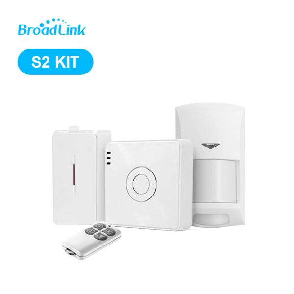 KIT Alarmă Smart Broadlink S2 cu control WiFi 0