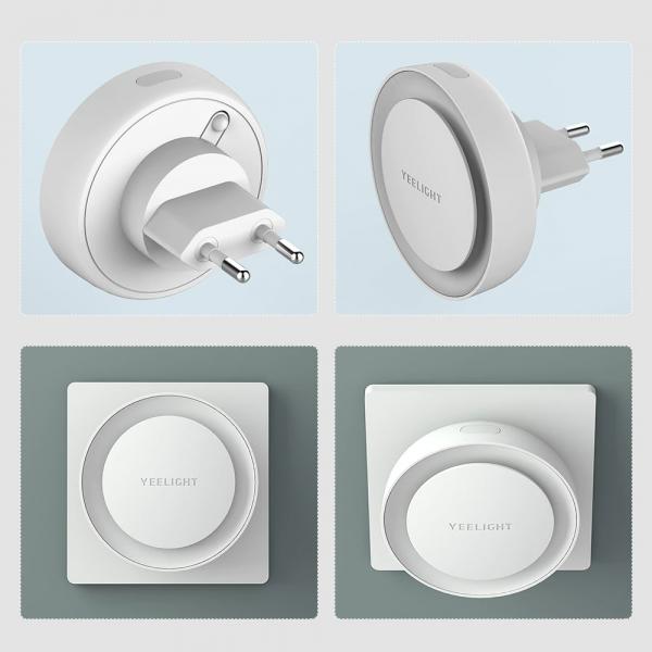 Lampa de veghe plug-in Xiaomi Yeelight cu senzor 3