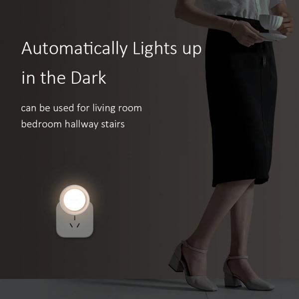 Lampa de veghe plug-in Xiaomi Yeelight cu senzor 4