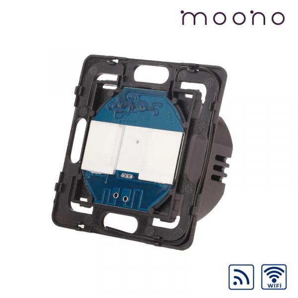 Modul întrerupător touch dublu WiFi și RF moono 0