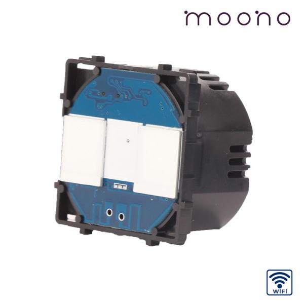 Modul întrerupător touch dublu WiFi moono 0