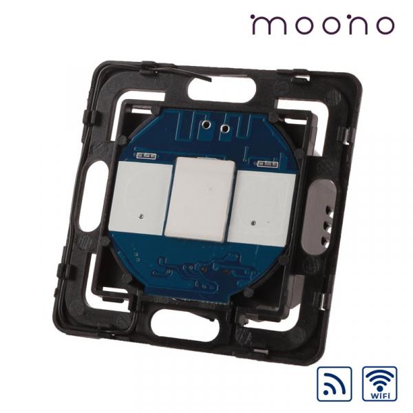 Modul întrerupător touch simplu WiFi și RF moono 0