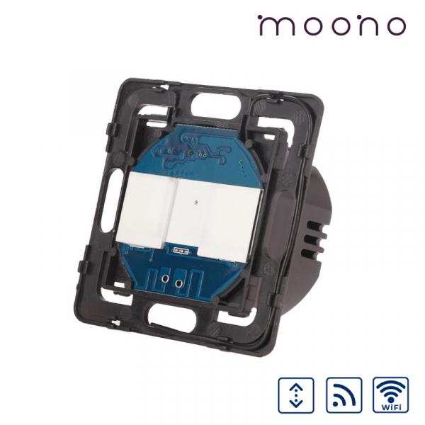 Modul întrerupător touch WiFi și RF acționare jaluzele moono 0