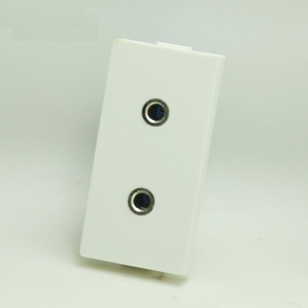 Modul 1/2 priză Audio 2xJack moono 0