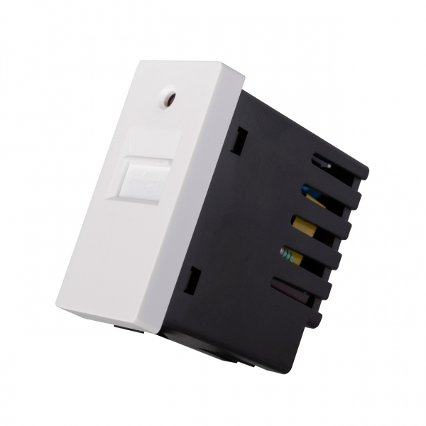 Modul 1/2 priză USB moono (5V / 1A) 0