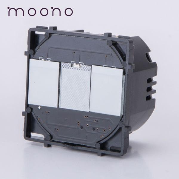 Modul întrerupător touch dublu moono 0
