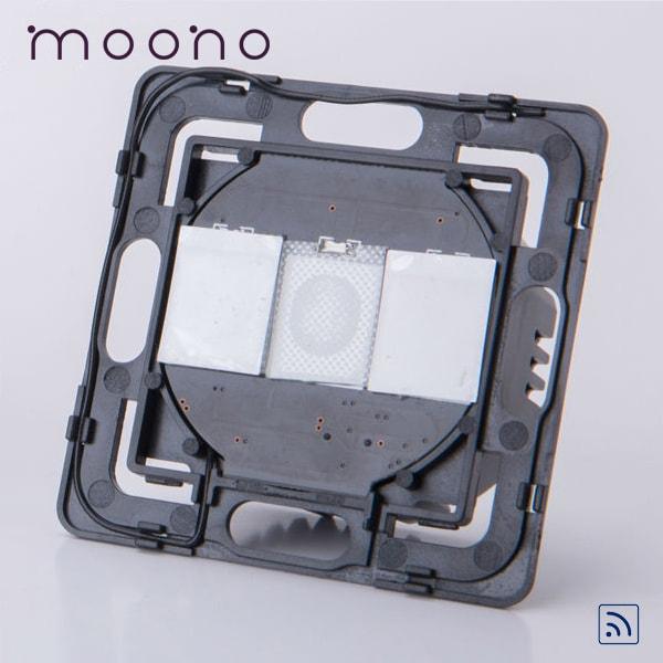 Modul întrerupător touch dublu RF moono 0