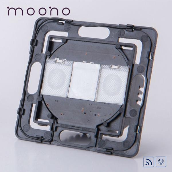 Modul întrerupător touch simplu RF cu variator (dimmer) moono 0