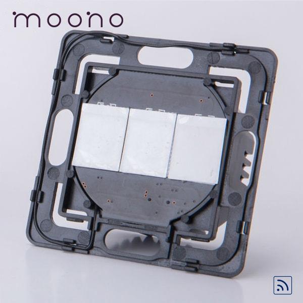 Modul întrerupător touch triplu RF moono 0