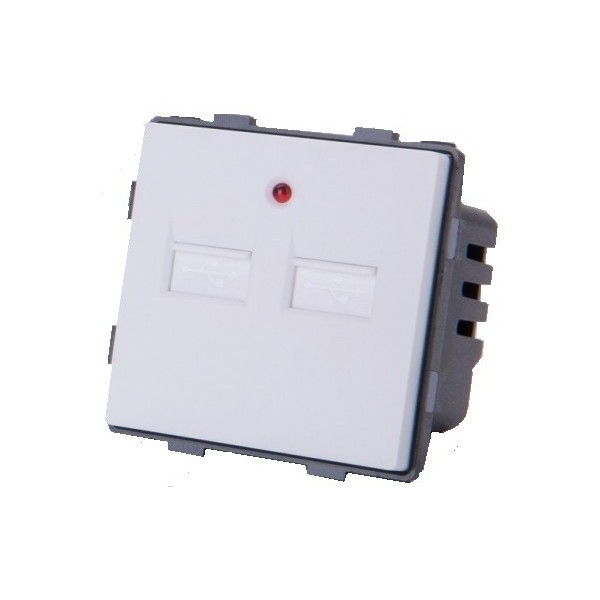 Modul priză 2 x USB moono (5V / 2A)