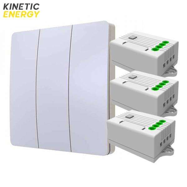 KIT Întrerupător triplu Kinetic Energy + 3 Controllere 1 canal 5A 0