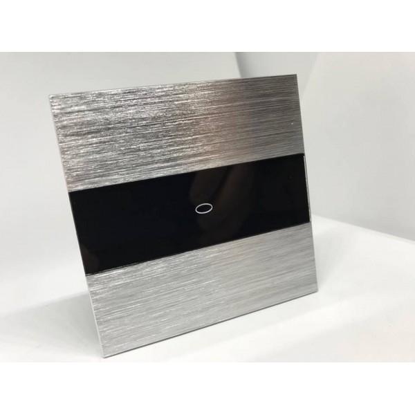 Panou întrerupător simplu din aluminiu M3 moono 0