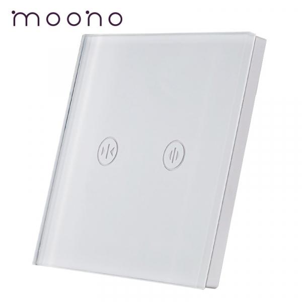 Panou întrerupător jaluzele din sticlă M1 moono 0