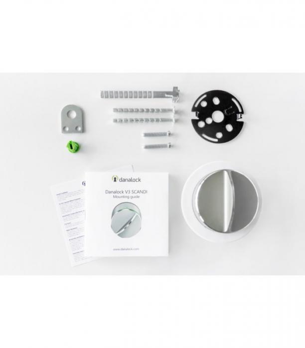 Incuietoare smart V3 cu Bluetooth si Z-wave Danalock [2]