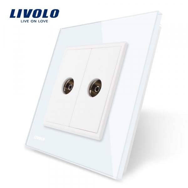Priză 2 x TV Livolo 0
