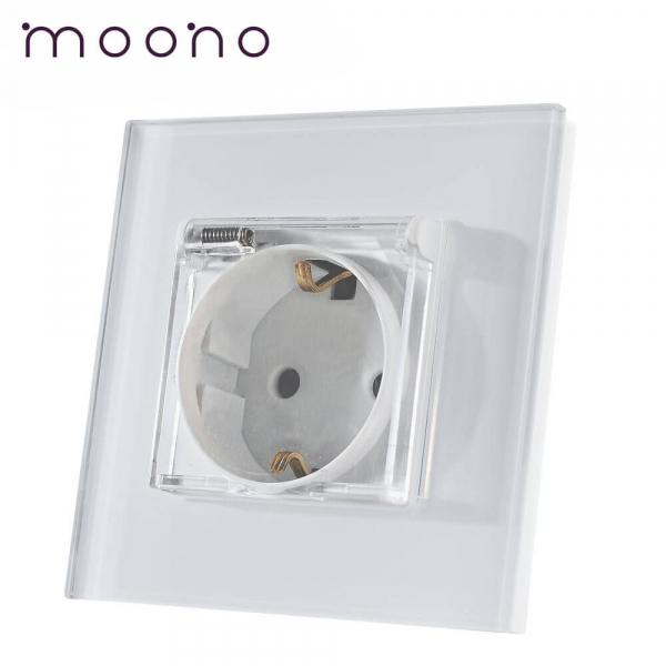 Priză Schuko cu capac M1 moono
